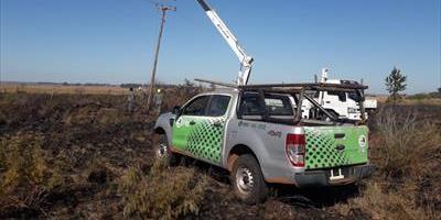La DPEC insiste en evitar la quema de pastizales por los extensos daños al sistema eléctrico