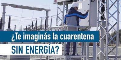 ADEERA: ¿Te imaginas la cuarentena sin energía?