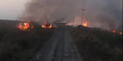 La DPEC solicita evitar la quema de pastizales porque provoca daños al sistema eléctrico