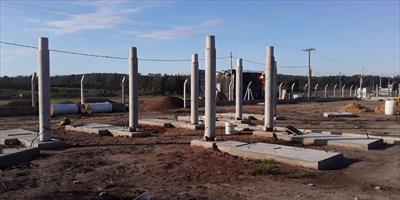 La DPEC avanza en Mocoretá con la construcción de la Estación Transformadora 132/33/13,2 kV
