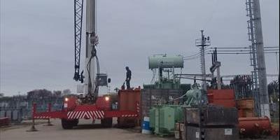 La DPEC realiza movimientos de Transformadores de Potencia para optimizar el servicio