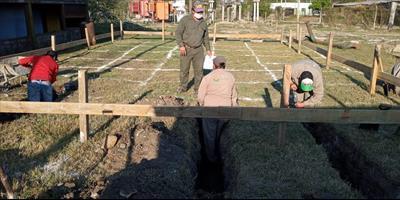 La DPEC inició la ejecución de la Obra Civil para Campo de 33 kV en Goya