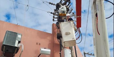 Se realizan en Capital tareas de mantenimiento en seccionadores de última generación