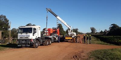 La DPEC continúa la ejecución de nuevas obras e infraestructura en diferentes partes de la provincia