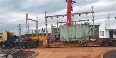 La DPEC avanza en Virasoro con las obras de la Estación Transformadora San Alonso